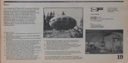 Whole Earth Catalog Fall 1969 Futuro Detail