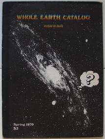 Whole Earth Catalog Fall 1970 Cover