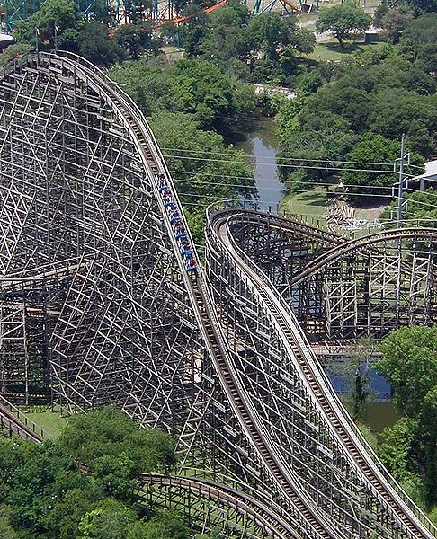 The Texas Giant, Six Flags, Arkington, TX